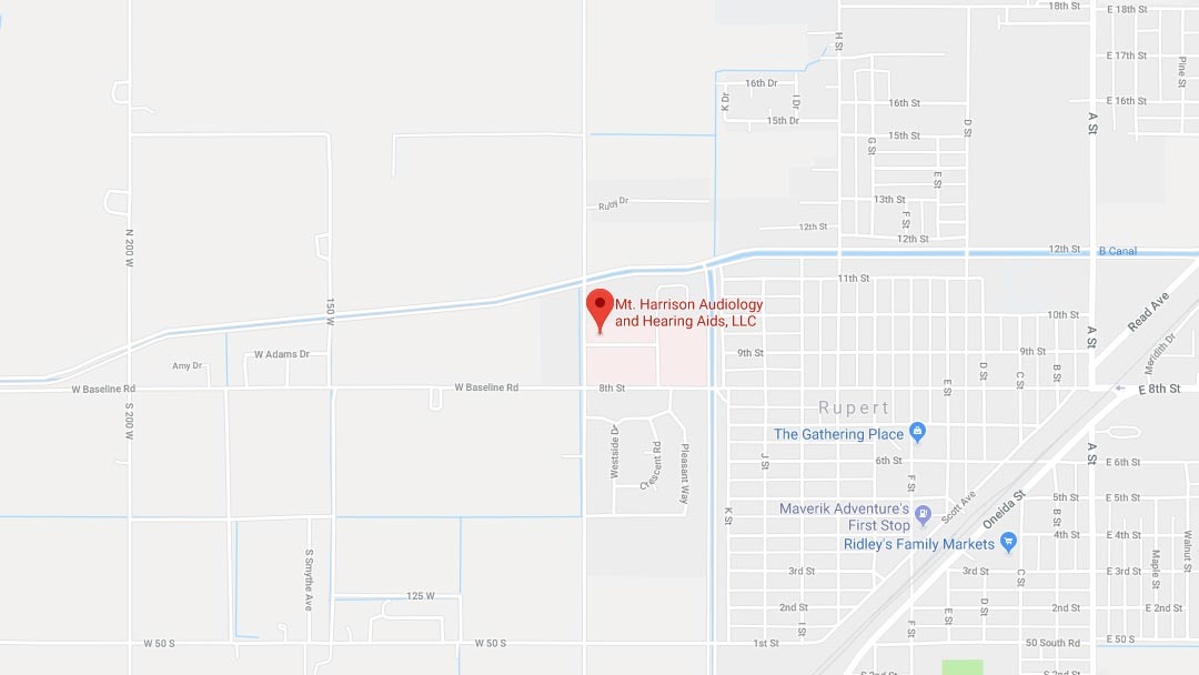 rupert id hearing clinic map