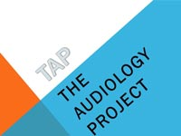 the audiology project logo