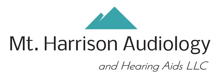 my harrison audiology logo header