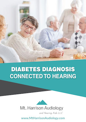 mha diabetes diagnosis connected to hearing loss