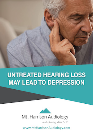 mha untreated hearing loss depression