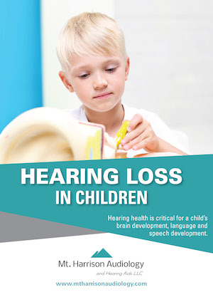 pediatrics report mt harrision audiology